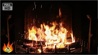 Download Lagu Crackling Fireplace with Thunder, Rain and Howling Wind Sounds (HD) Mp3