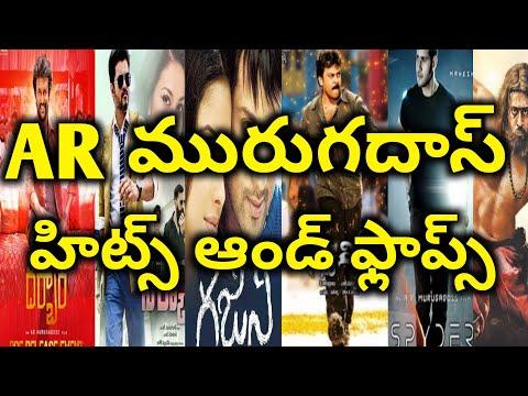 Ar murugadoss hits and flops All telugu movies list upto Darbar