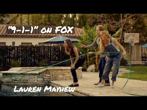 "Don't Get Electrocuted! Clip From ""9-1-1"" Episode On FOX - Lauren Mayhew"