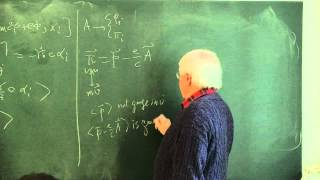 METU - Quantum Mechanics II - Week 10 - Lecture 3