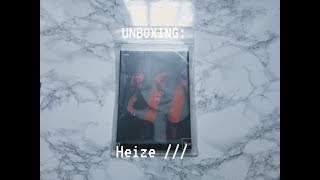 Unboxing: Heize ///
