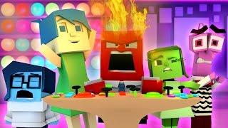 Minecraft   INSIDE OUT BING BONG GOES CRAZY! Inside Out Mod Showcase! (Anger, Sadness, Joy)