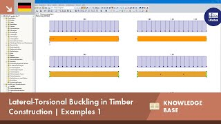 [DE] KB 001647 | Lateral-Torsional Buckling in Timber Construction | Examples 1