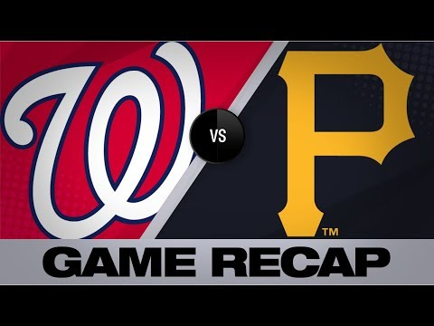 Video: 6-run 3rd propels Nationals to 11-1 win | Pirates-Nationals Game Highlights 8/21/19