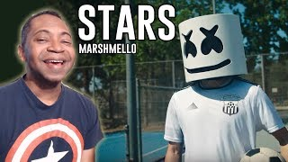 Marshmello - Stars (Music Video) REACTION