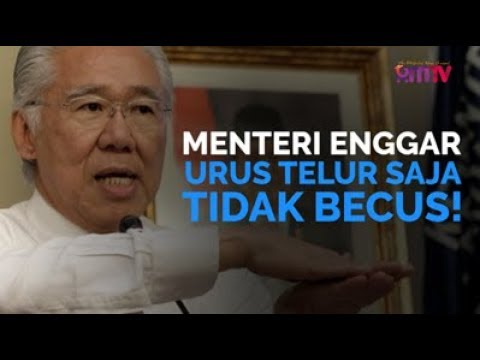 Menteri Enggar Urus Telur Saja Tidak Becus!