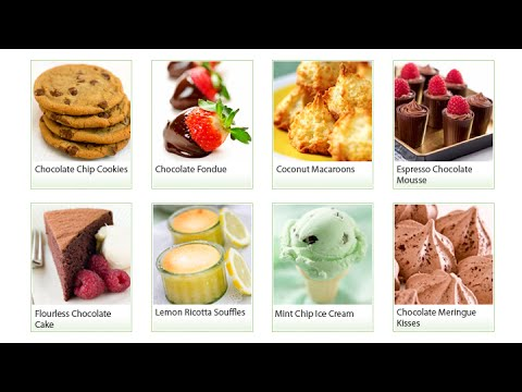Guilt Free Desserts ★ Gluten Free Diabetic Safe Desserts