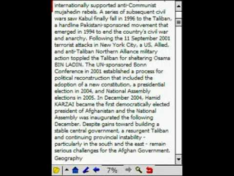 CIA Factbook - cia world factbook plucker.