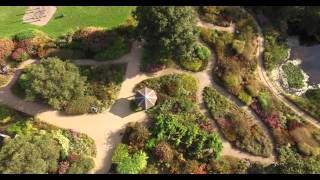 Fakenham United Kingdom  city photos gallery : Pensthorpe, Fakenham, Norfolk, UK Aerial View Photography Video 11 09 15 2