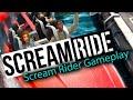 Screamride: Scream Rider Gameplay beldurrean Laku