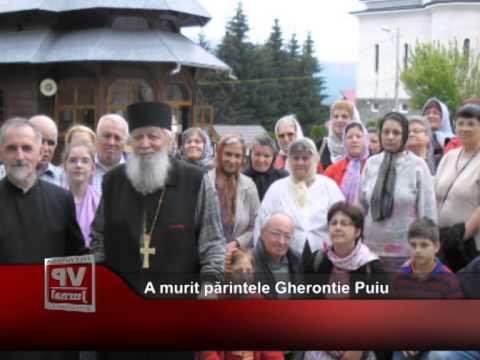 A murit părintele Gherontie Puiu