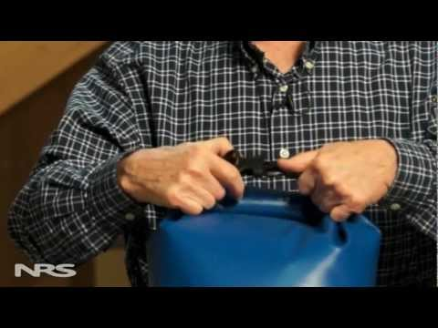 How to close a NRS Dry Bag