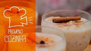 Canjica doce | Projeto Cozinha