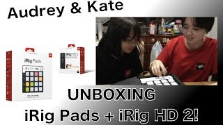 Hello! We just got iRig Pads and iRig HD 2 (IK Multimedia.) SO AWESOME!!! See you next time when we play with them!!! Thanks so much for watching!!!iRig PadsとiRig HD 2 (IK Multimedia)の開封ビデオです。めちゃカッコイイ!!早く使ってみたい!!では次回の動画で!Thanks so much for watching!!
