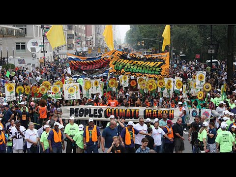 Leading Activists Demand Climate Action at People's Climate March