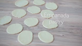 Authentic empanada pastry video