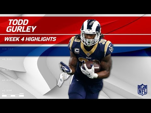 Video: Todd Gurley's 215 Total Yards vs. Dallas! | Rams vs. Cowboys | Wk 4 Player Highlights