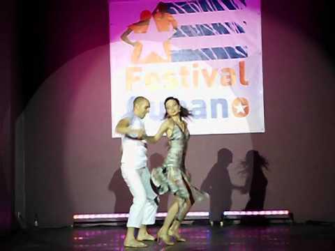 Festival Cubano 2012 Bielsko Biała -- Martyna i Eric (видео)