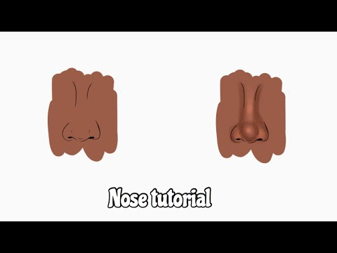 NOSE TUTORIAL ON ADOBE DRAW ✨