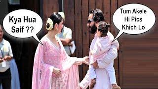 Video Kareena Kapoor Fight With Saif Ali Khan At Sonam Kapoor Wedding MP3, 3GP, MP4, WEBM, AVI, FLV Mei 2018