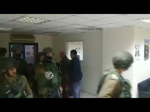 «Εισβολή» Ισραηλινού στρατού σε Παλαιστινιακό πρακτορείο ειδήσεων …