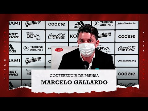 Marcelo Gallardo en conferencia de prensa (30/8/2021)