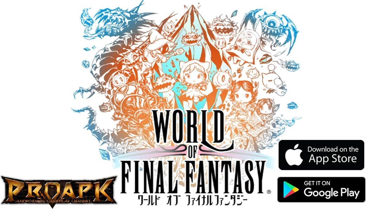 World of Final Fantasy: Meli Melo - ワールド オブ ファイナルファンタジー メリメロ