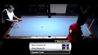 Bergen Open 9-Ball 2013 - Efren Reyes VS Mats Schjetne QF