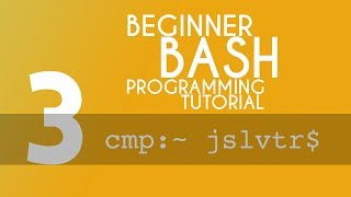 BASH Tutorial - 3 - Creating Files, Moving And Copying