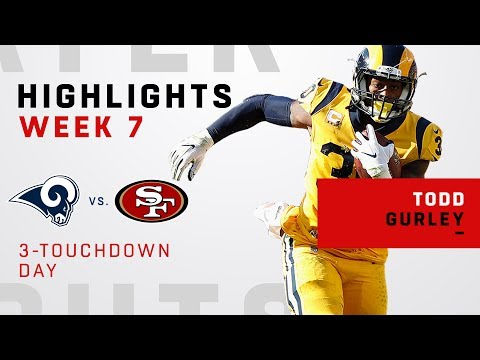 Video Todd Gurley's Great Game w/ 3 TDs vs. 49ers download in MP3, 3GP, MP4, WEBM, AVI, FLV January 2017