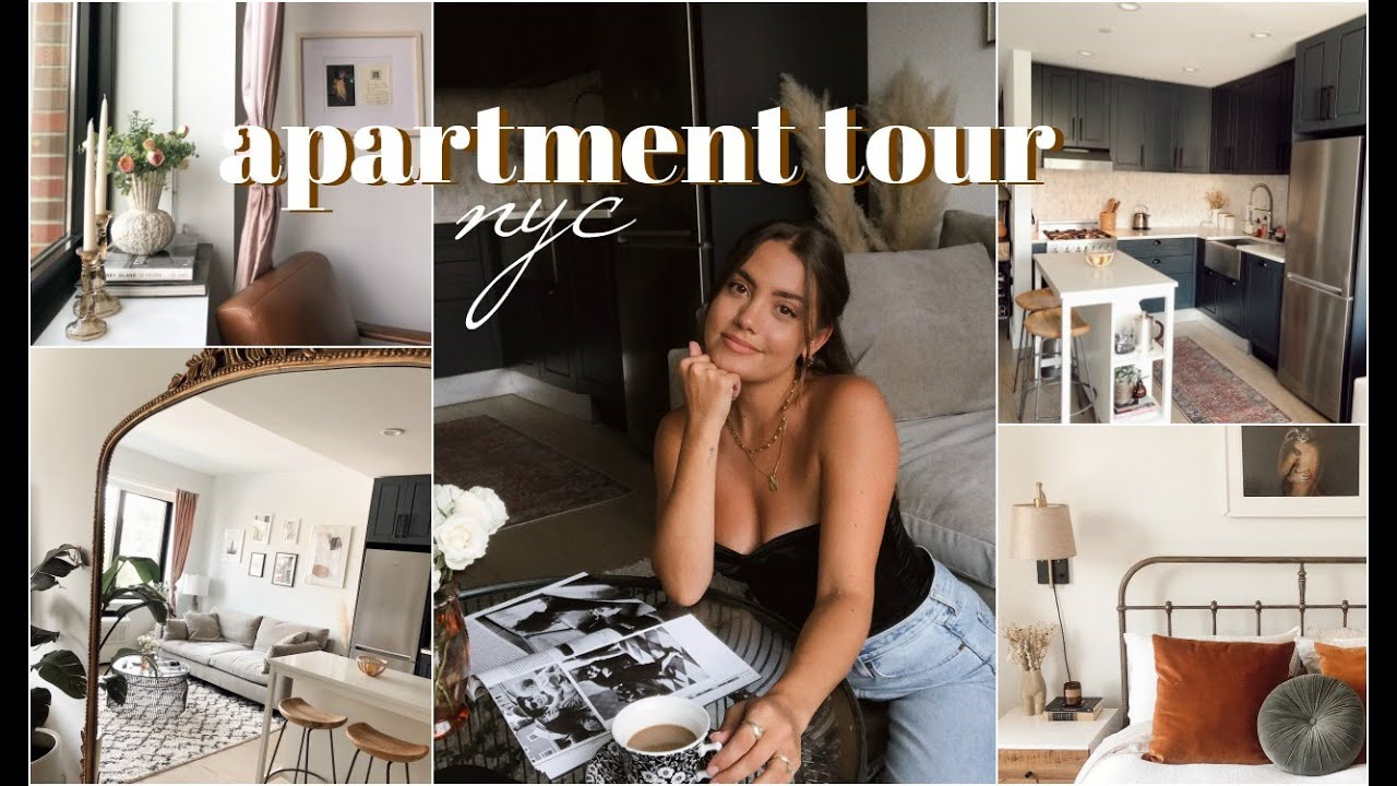 NYC APARTMENT TOUR   1 Bedroom in Brooklyn