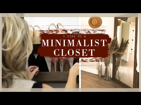 HOW TO ELIMINATE CLOSET CLUTTER! Clutter Free January