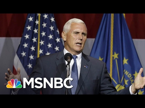 The Most Dangerous Man In President Trumps World Is VP Mike Pence  The Last Word  MSNBC