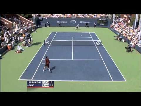 Kei Nishikori vs Marin Cilic (US Open 2010)