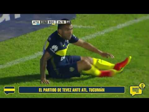 El partido de Carlos Tevez ante Atl. Tucumán