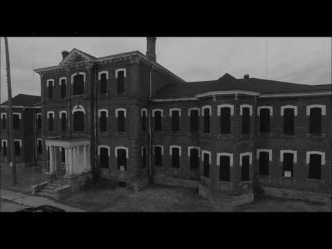 Drone Flight Around Haunted Century Manor Insane Asylum