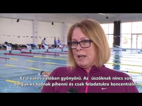 Az úszóknak itt tényleg csak az úszásra kell koncentrálniuk