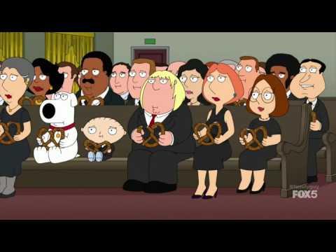 Family Guy Random Scene #2 Peter Picturing own funeral