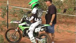 4. Motocross Racing Kawasaki KX 85 KX 100