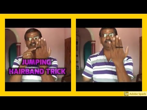 Download FUNNY MAGIC TRICKS I JUMPING HAIRBAND TRICK  I தமிழ் மேஜிக் I  TAMIL MAGIC I HD Mp4 3GP Video and MP3