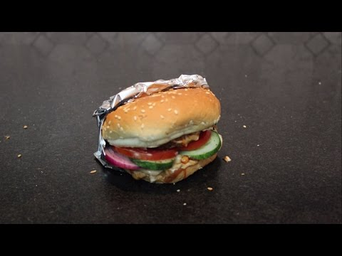 Stop Motion - How To Make A Burger?
