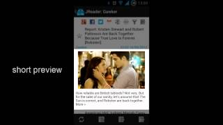 JReader (Google Reader | RSS) YouTube video