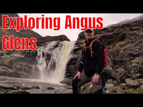 Exploring Angus Glens & Beaches (видео)