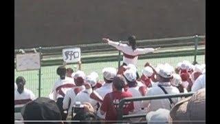 20171008 秋季高校野球福岡県大会決勝 東筑高校 サウスポーマーチ