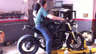 5. 2006 Triumph Speed Triple Dyno Run