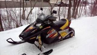 8. MXZ Ski Doo 600- HO Test Run After Installing New V-Force-3 Reed Valves