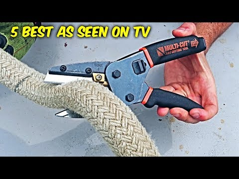5 Best As Seen On TV Gadgets Put to the Test (видео)