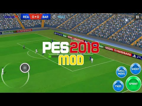 PES 18 Android - MOD - FIFA 14 - Unlocked - Offline - Updated Squad
