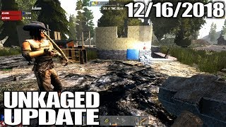 STREAMING 7 DAYS TO DIE ALPHA 17 & CHRISTMAS PLANS | UnKaged Update | 12/16/2018