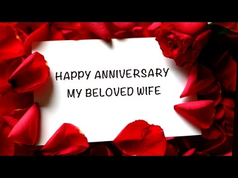 Video Happy Anniversary My Beloved Wife download in MP3, 3GP, MP4, WEBM, AVI, FLV January 2017
